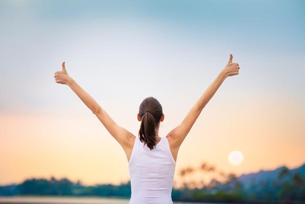 Lebensfreude ist ein wunderbares Gefuehl und Sie koennen es erreichen