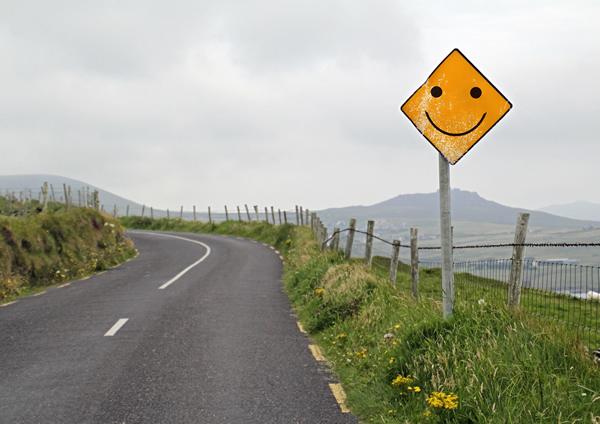 Positives denken hilft dass Ihnen taegliche Aufgaben besser gelingen und Sie gluecklich sind